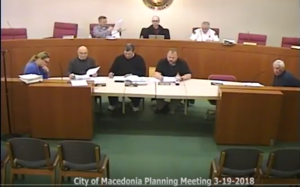 Vic's Corner: Macedonia Planning Commission Meeting 3-19-18
