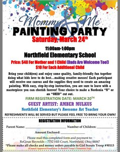 Mommy & Me Painting Party