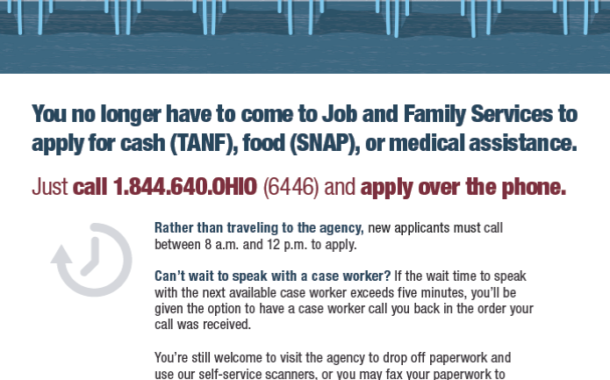 Summit County Department of Job and Family Services Introduces New Call-in Application Model