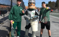Nordonia Knights Tennis - First Varsity Match of the Spring Sport Season Results with a WIN