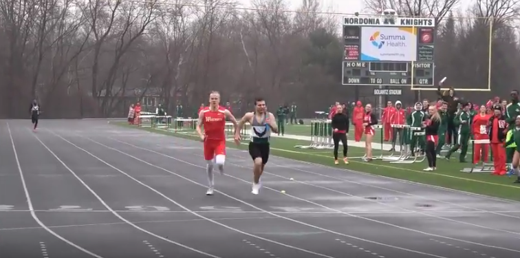 Nordonia vs Wadsworth Track Results 3-27-18 (Video)