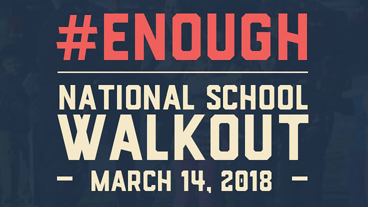 Twinsburg Students Plan National Walkout Day - March 14th  - By Julius Edgerson