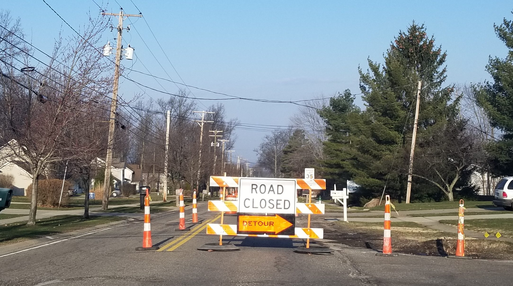 Vic's Corner: Ledge Road Project Begins!!