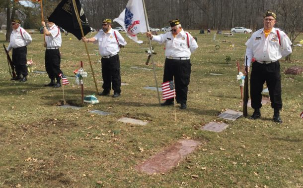 Nordonia Hills American Legion Post 801 and VFW Post 6768 honored U.S. Army Sergeant First Class Peter Simon