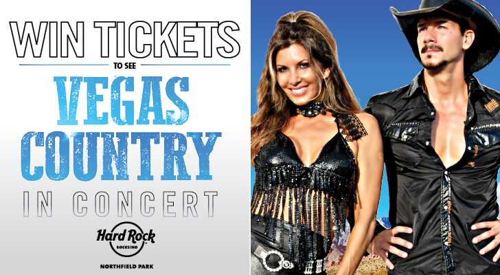 VEGAS COUNTRY TICKET GIVEAWAY – NORDONIA HILLS – APRIL ROCKSINO CONTEST