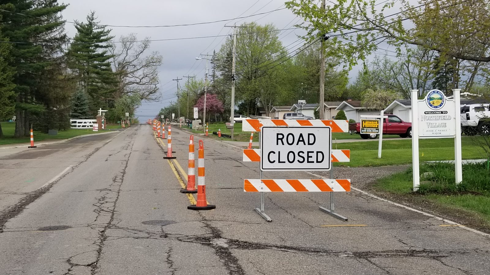 Ledge Road Closure Update