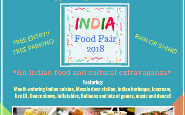 India Food Fair 2018 on July 14th - Macedonia, Ohio