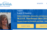 Northfield resident, LORRI D'AMICO, has been chosen by Make-A-Wish® Ohio, Kentucky & Indiana