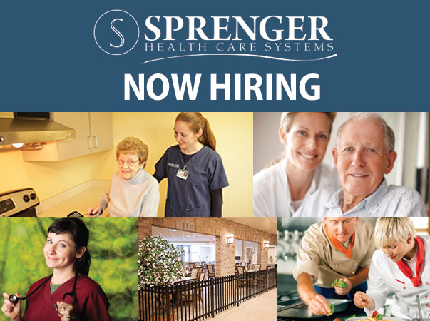 Grande Village Retirement Community in Twinsburg is accepting applications for the following positions: