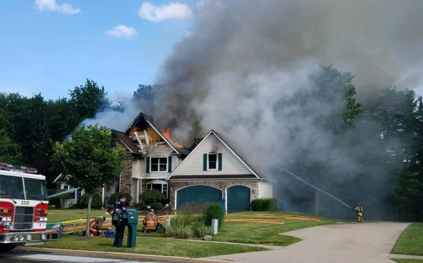 Vic's Corner: House Fire at Former Girl Scout Camp in Macedonia
