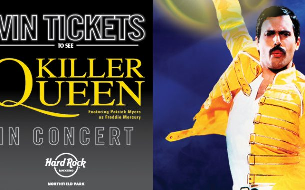 KILLER QUEEN TICKET GIVEAWAY – NORDONIA HILLS – JUNE ROCKSINO CONTEST