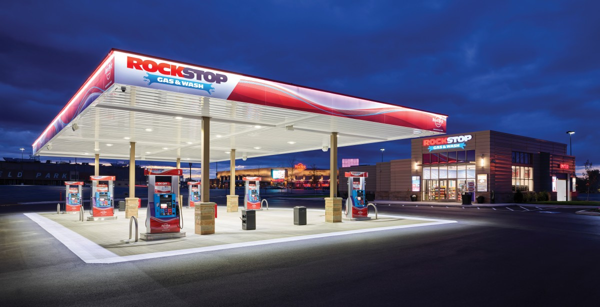 Hard Rock Rocksino's RockStop Gas & Wash Offers Lowest Gas Prices