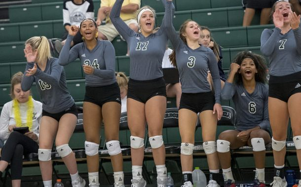 Clean sweep for the Lady Knights volleyball teams against Hudson!