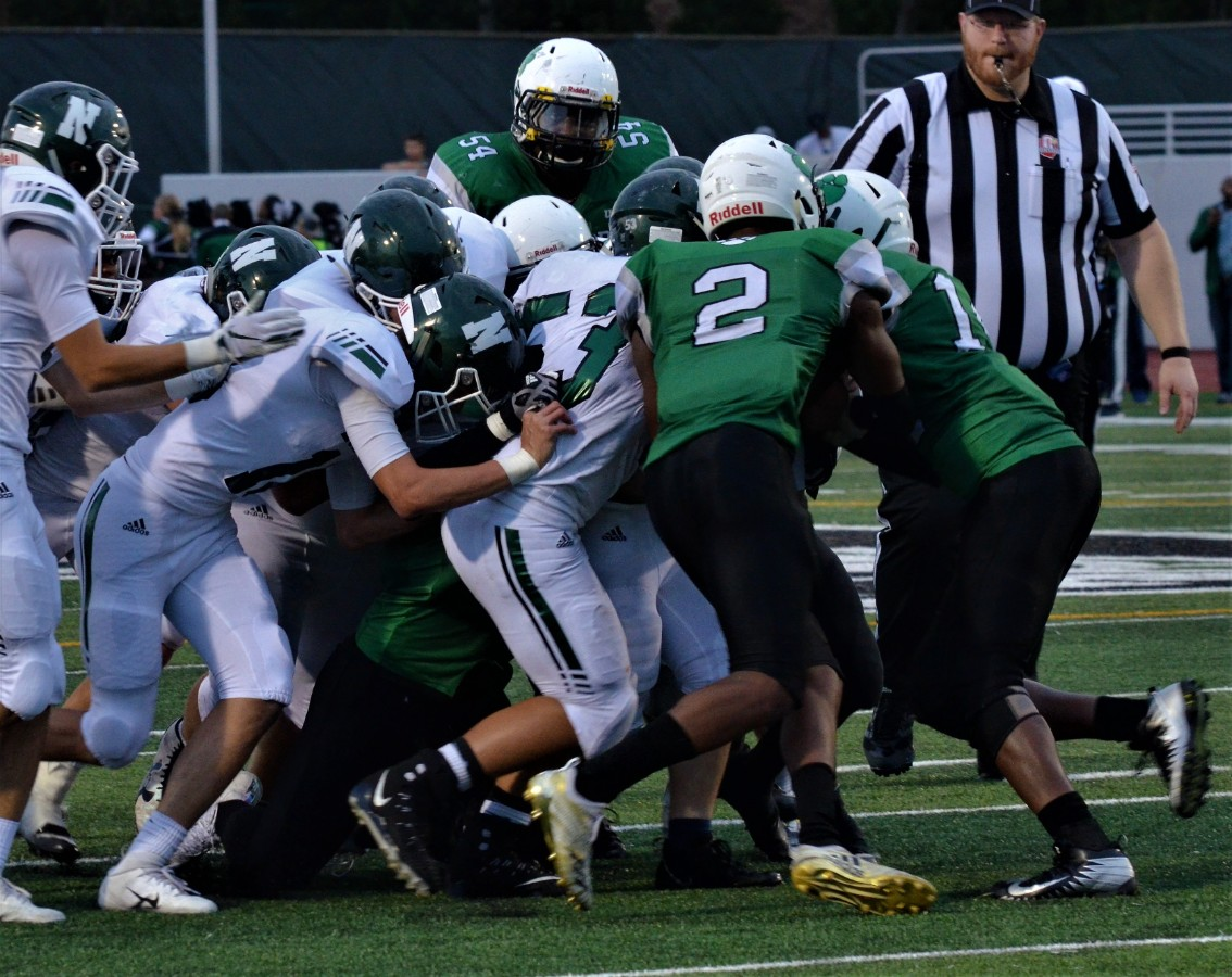Vic's Corner: KNIGHTS FIND DEFENSE AND WIN OPENER 18-12 AT BEDFORD