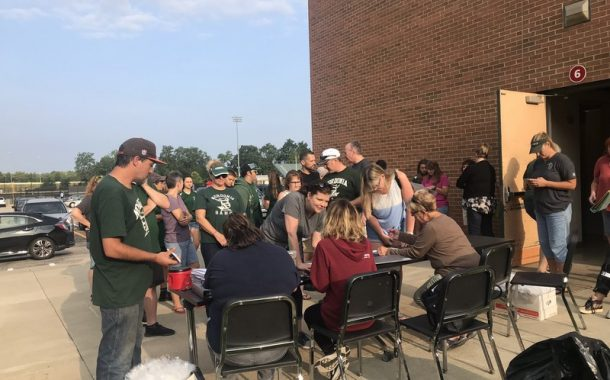Kick off of the Nordonia Band Tag Day (Photos)
