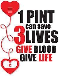 Northfield VFW Post 6768 will be sponsoring quarterly blood drives