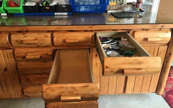 FOR SALE: Rustic Cedar Storage