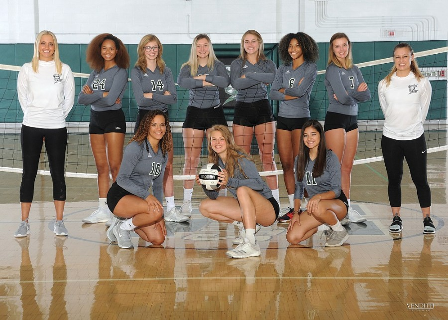 Congratulations to the Lady Knights Volleyball team as they beat Twinsburg in their regular season finale.