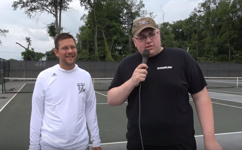 NHS Girls' Head Tennis Coach Ryan Vehar Preseason Interview (VIDEO)