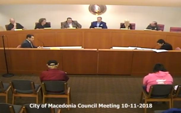 Vic's Corner: Macedonia Council Report 10-11-2018