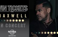 MAXWELL TICKET GIVEAWAY – NORDONIA HILLS – NOVEMBER ROCKSINO CONTEST