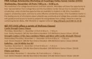 Upcoming November Events for CVCC
