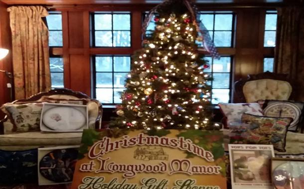 Longwood Manor Holiday Gift Shop 2018