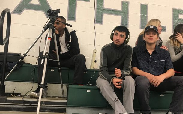 Boys Varsity Basketball Final Brecksville 60 - Nordonia 47:  Broadcast of the Game by Darayus and Andrew (VIDEO)