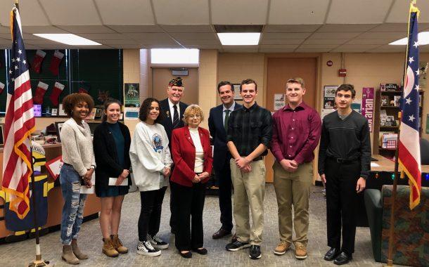 Nordonia High School American Legion Contest Winners