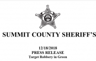 Target Robbery in Green