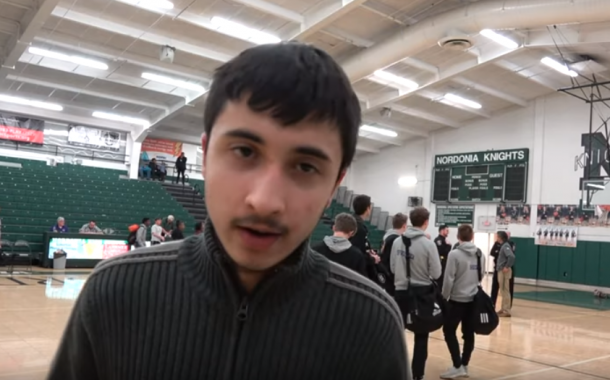1-8-19 Boys Varsity Basketball: Nordonia lost to North Royalton in OT 69-67 – Post Game Report by Darayus (VIDEO)