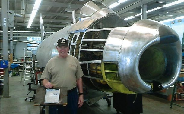 Thomas Deegan, F-86 Sabre Jet memorabilia collector and enthusiast, will speak at Nordonia Hills American Legion Post 801 Jan. 9th