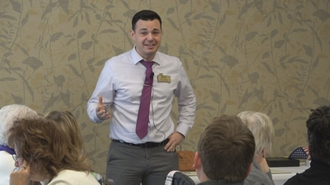 Nordonia Hills Chamber of Commerce Meeting, Awards and Speaker 1-10-19 (Photos and Videos)